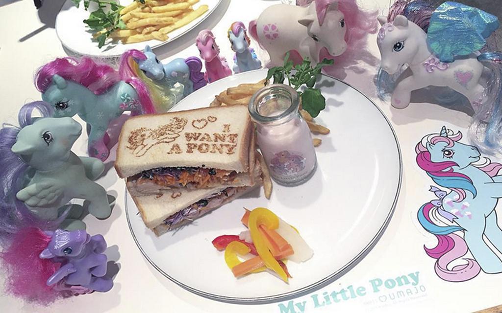 La cafetería de Mi Pequeño Pony en Harajuku, Japón
