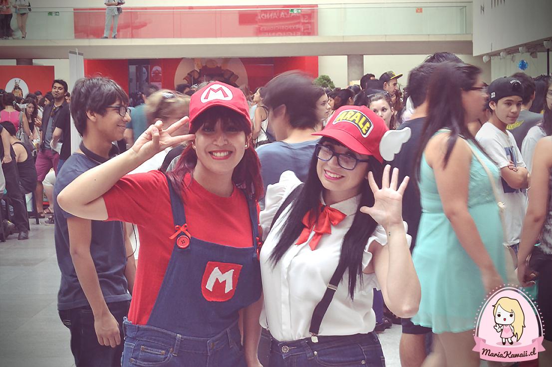 Lady Mario y Arale una gran combinación de estas chicas que estaban realizando cosplay! ♥