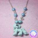 maria kawaii – accesorio kawaii collar little pony celeste bisuteria corazones 2