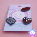 maria kawaii – accesorio harajuku pin street good heart corazon kiss beso
