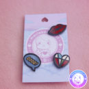 maria kawaii – accesorio harajuku pin street good heart corazon kiss beso 3