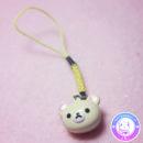 maria kawaii – accesorio kawaii colgante celular con cascabel korilakkuma 2