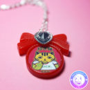 maria kawaii – accesorio kawaii collar maneki neko luck suerte 666 3