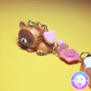 maria kawaii store – accesorio kawaii plug dust guarda polvo rilakkuma neko acostado 3