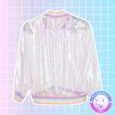 maria kawaii store – chaqueta harajuku holografica holographic jacket rainbow arcoiris 2
