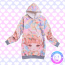 maria kawaii store – poleron kawaii colores pastel girl eat cake colors
