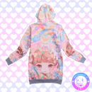 maria kawaii store – poleron kawaii colores pastel girl eat cake colors 2