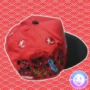 maria kawaii – vestuario harajuku japan trends snapback trucker gorro golondrinas japón rojo 3