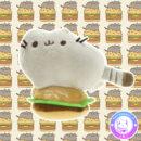 maria kawaii store – plush peluche colgante pusheen hamburguesa