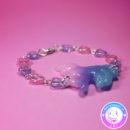 maria kawaii store – accesorio kawaii pulsera unicornio rosa lila celeste 2