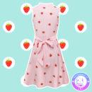maria kawaii store – vestido sin mangas kawaii frutillas lolita rosa pink strawberry 2