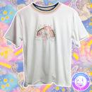maria kawaii store – polera harajuku unicornio arcoiris bordado