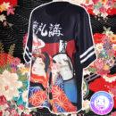 maria kawaii store – polera harajuku geisha gato japón neko japan 3