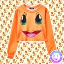maria kawaii store – vestuario kawaii polerón corto charmander pokémon 2
