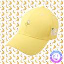 maria kawaii store – snapback gorra banana platano amarillo yellow