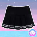 maria-kawaii-store-skirt-falda-tennis-aesthetic-negra-rayas-blancas